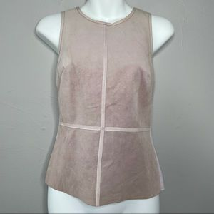 BAILEY 44 Orchid Leather Kelly Tank Top Small